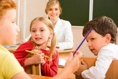 Оценка детей учителем